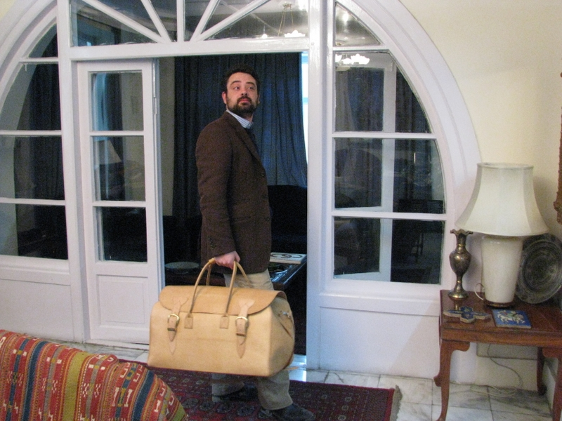 Big Traveller - genuine leather - Afghan-made - very classic