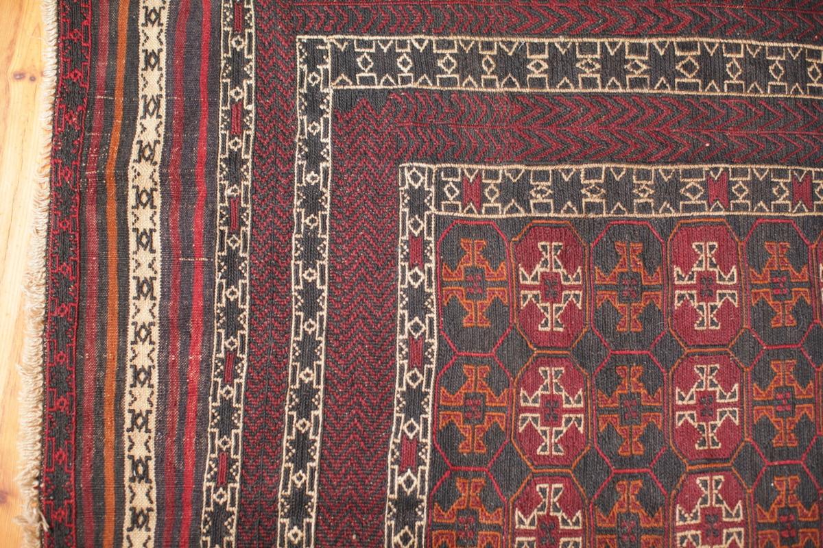 Herati - Belutsch-Teppich - hochwertiger afghanischer Teppich - Einkommensquelle für Frauen