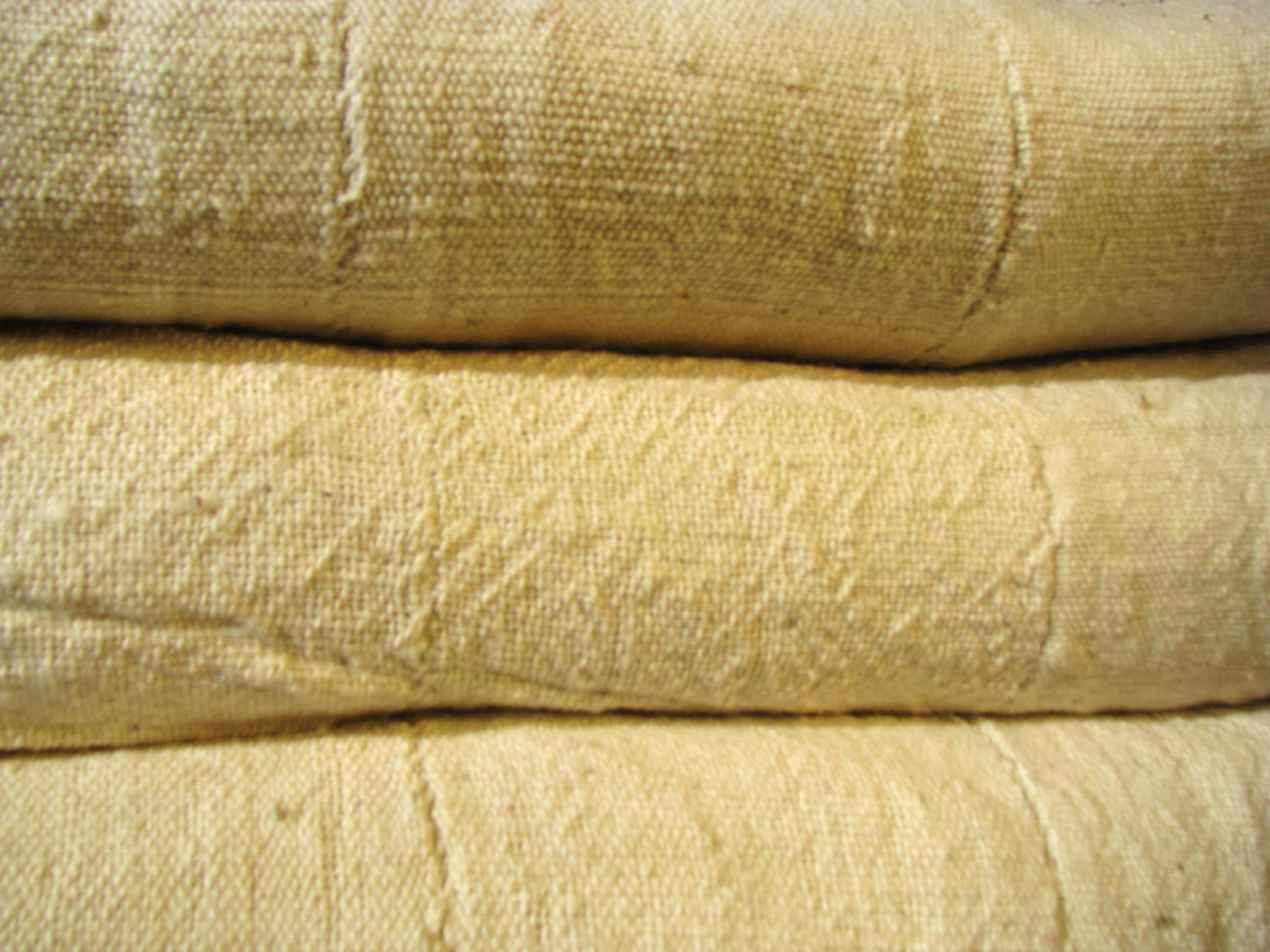 plaid en coton fait au burkina faso