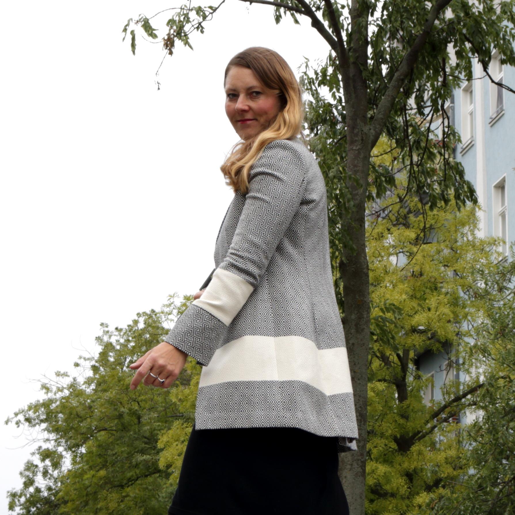 Gundara - design - longjacket - cotton - hamam towel - Berlin - elegant