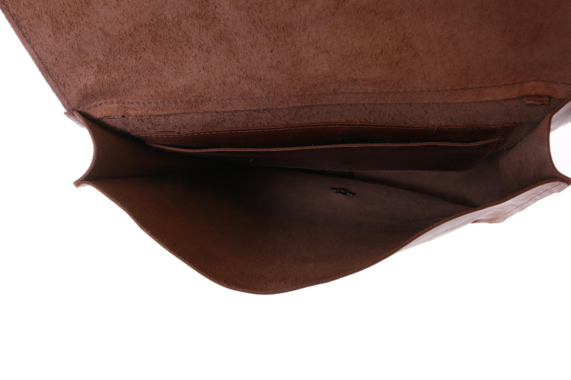 Gundara - fairtrade cow leather bag - handmade in Ethiopia - reversible into a backpack