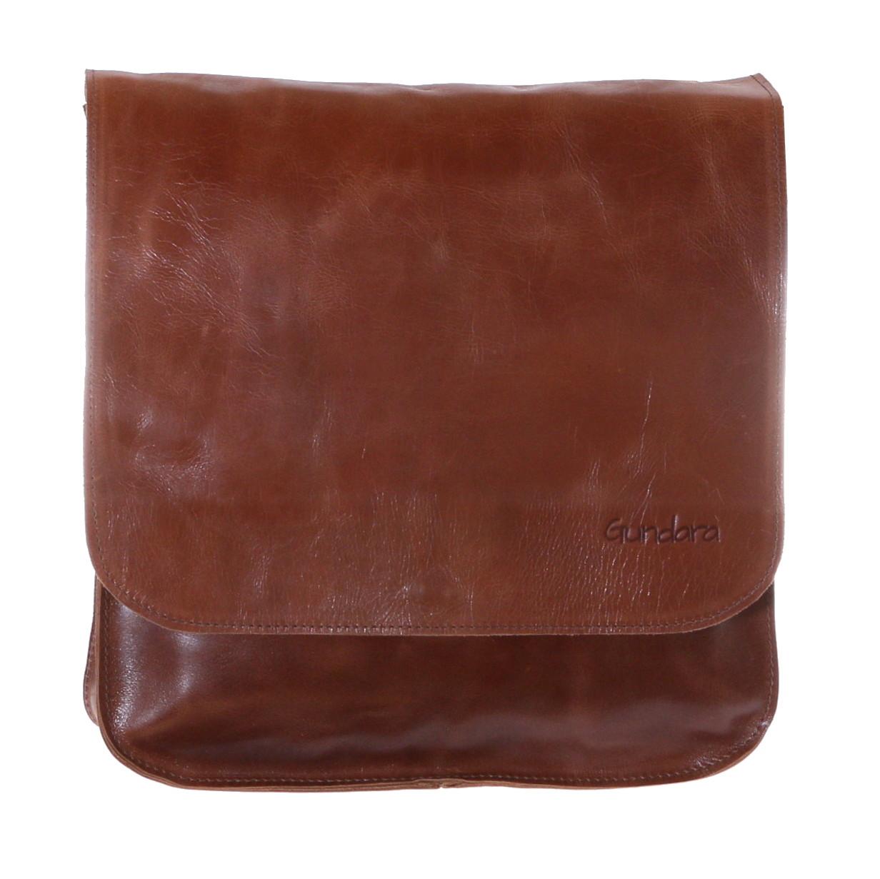 Gundara - fairtrade leather bag or backpack - genuine leather - handmade