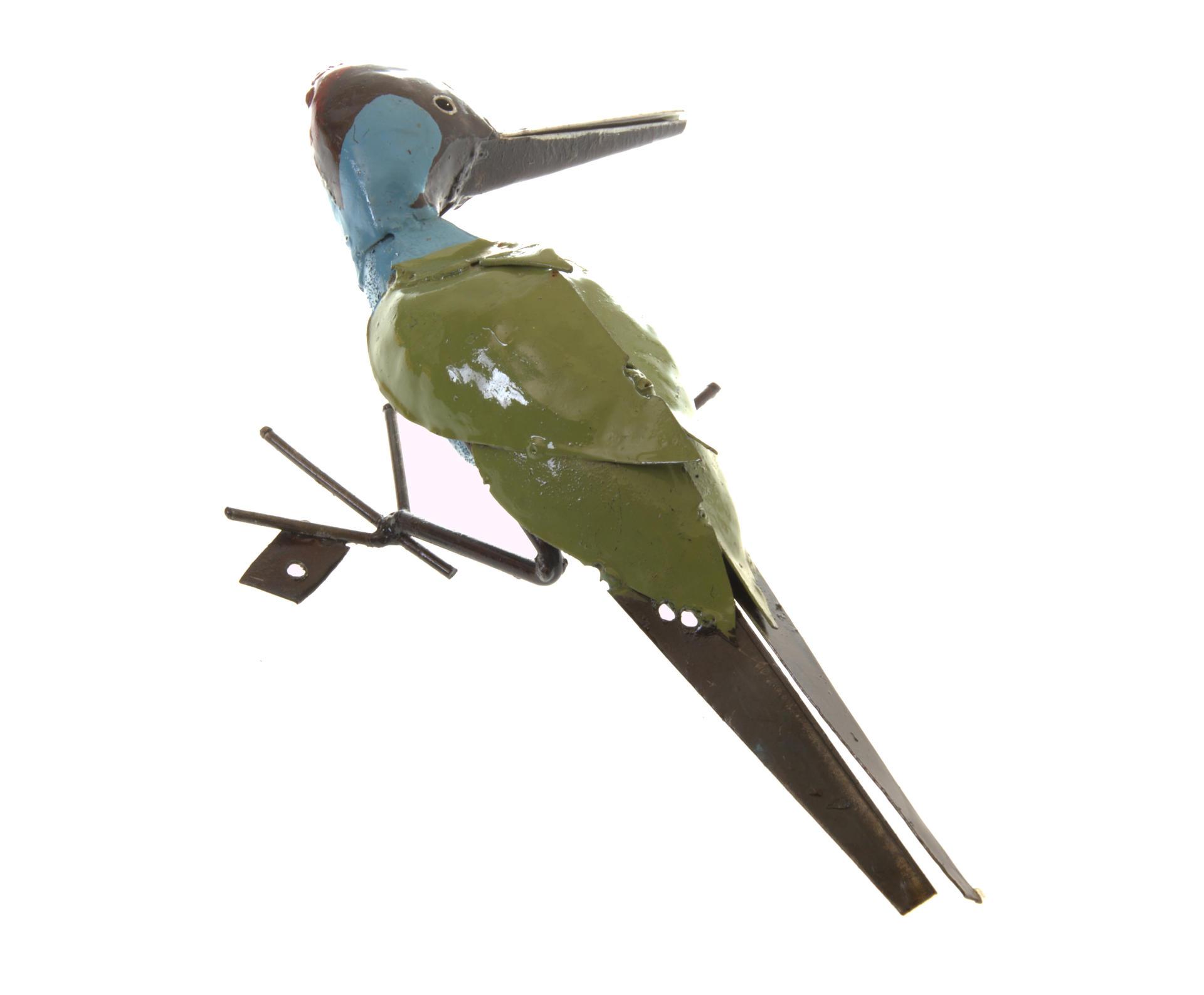Woodpecker handmade in Zimbabwe