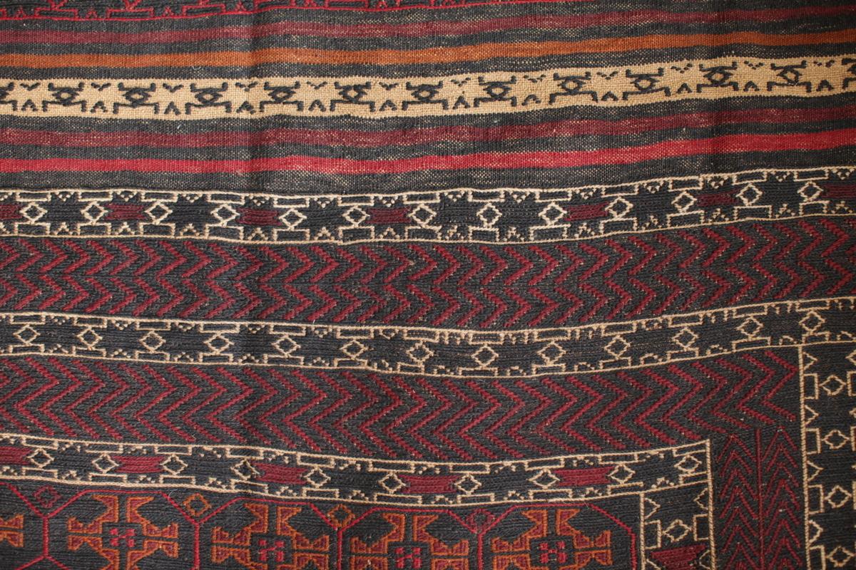 Herater Stickerei - feiner handgewebter und bestickter Teppich aus Herat, Afghanistan