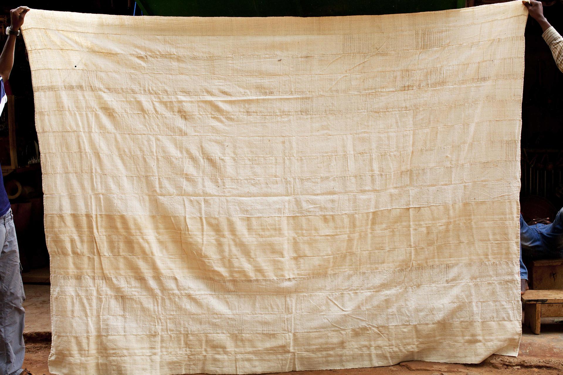 couvre lit en coton
