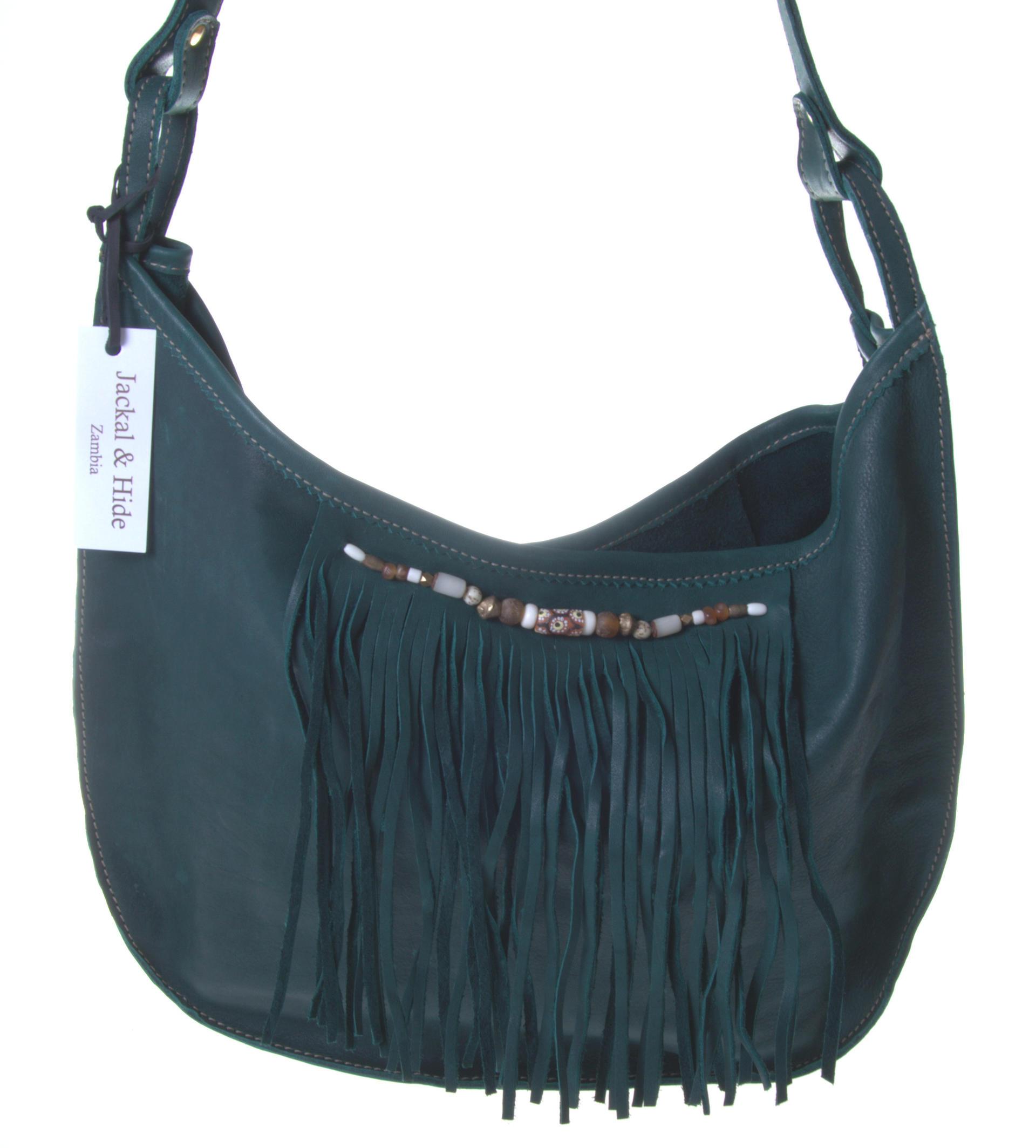Jackal & Hide - Sambia - Unikat - verschiedene Farben - elegante Handtasche Mini Moon