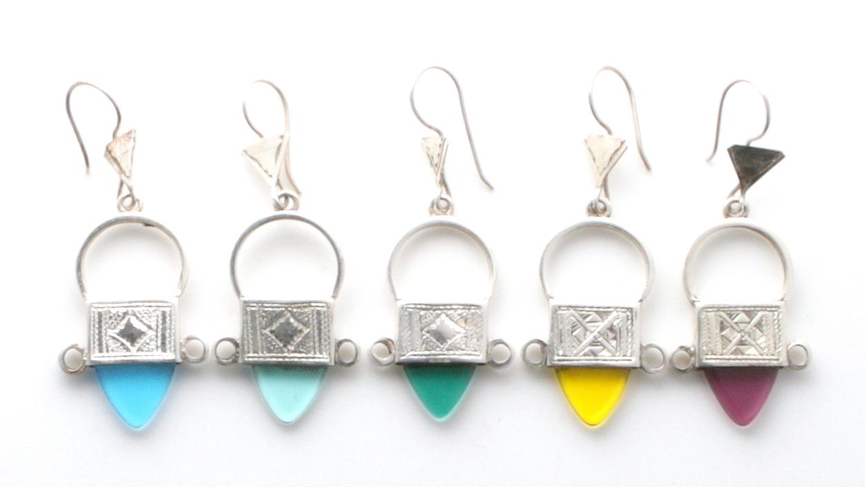 ingal cross earring variations