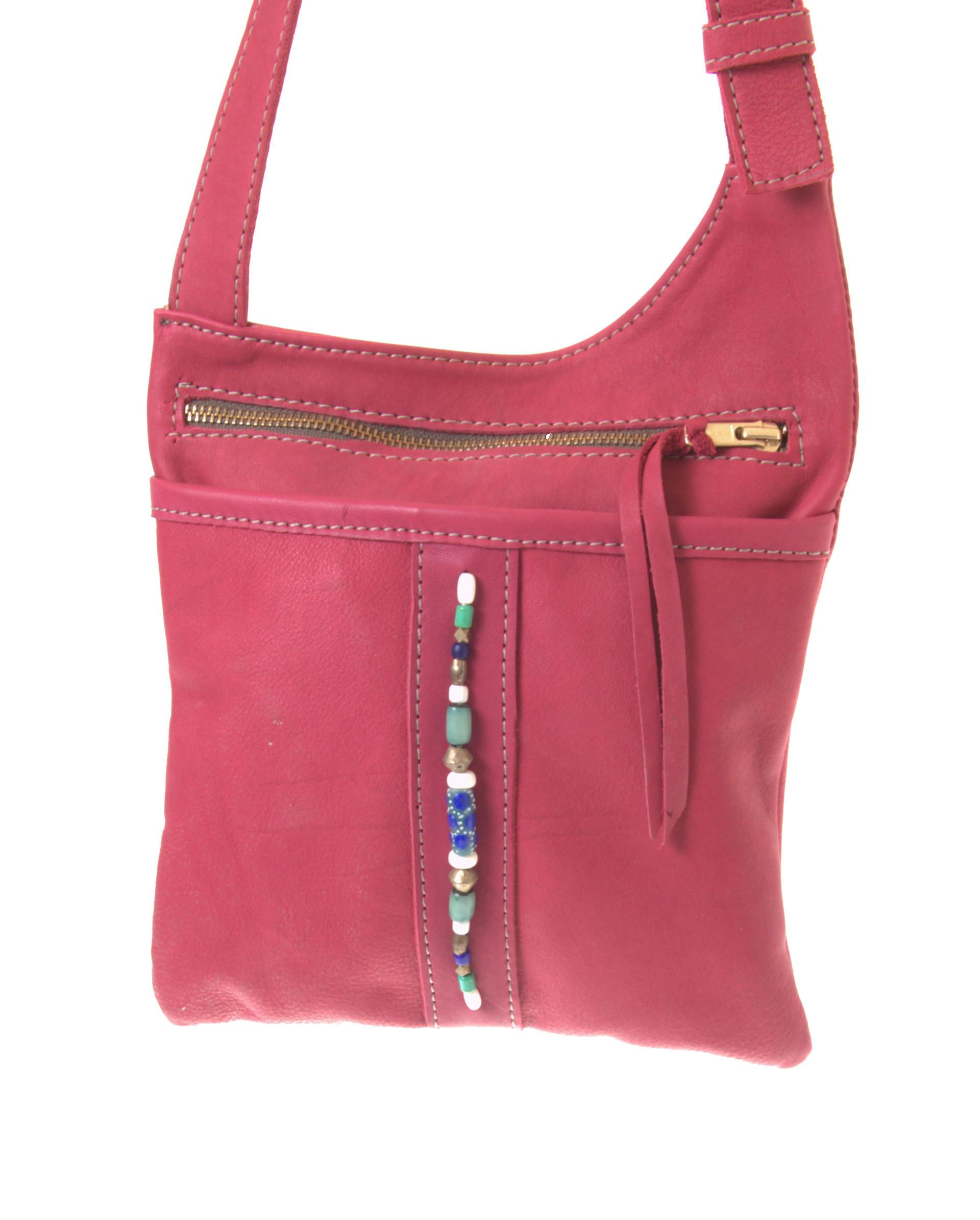 Marjo - Small cross body bag - Jackal and Hide - Red