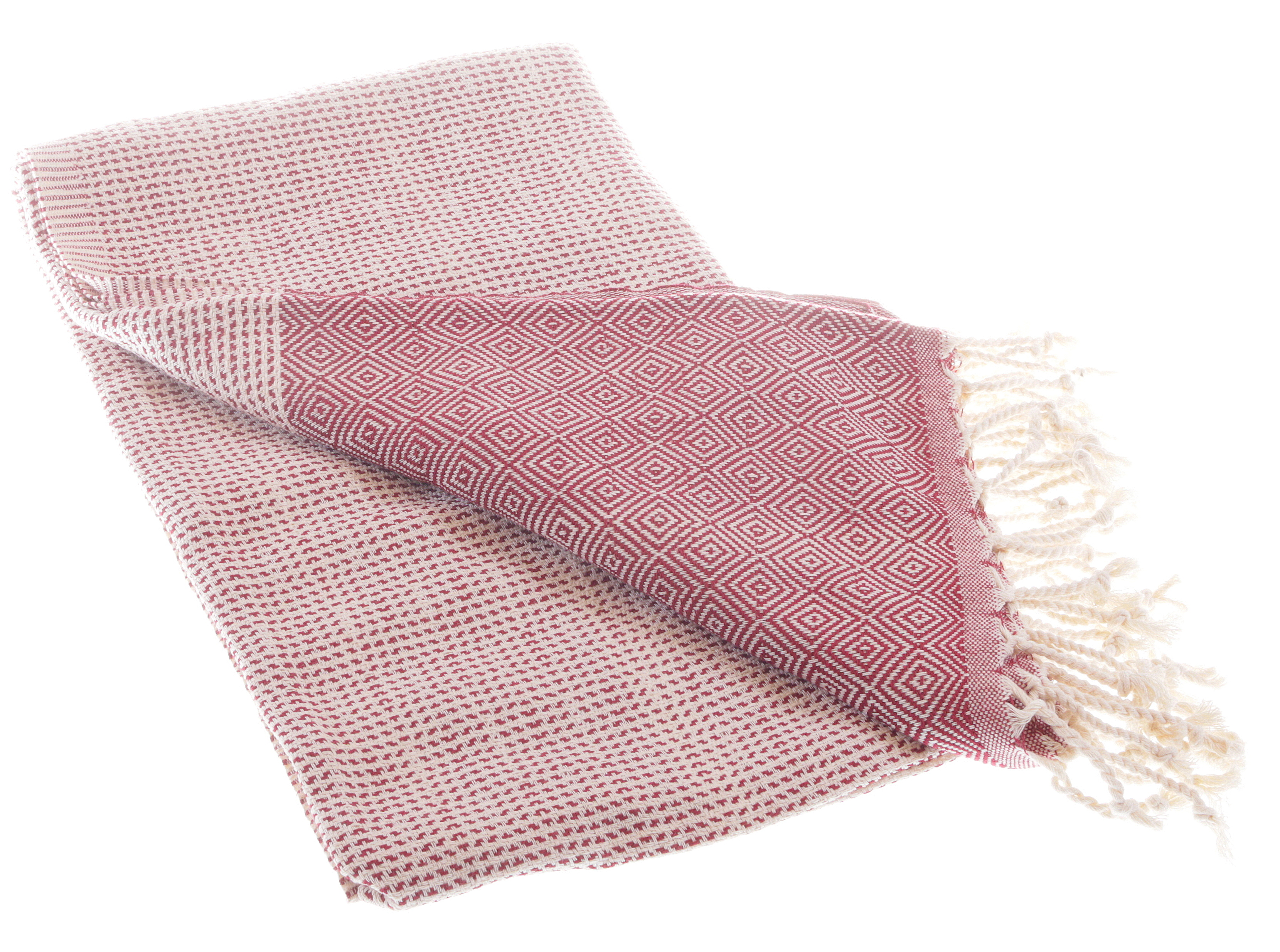 elmas-nature-bordeuax-cotton-towel