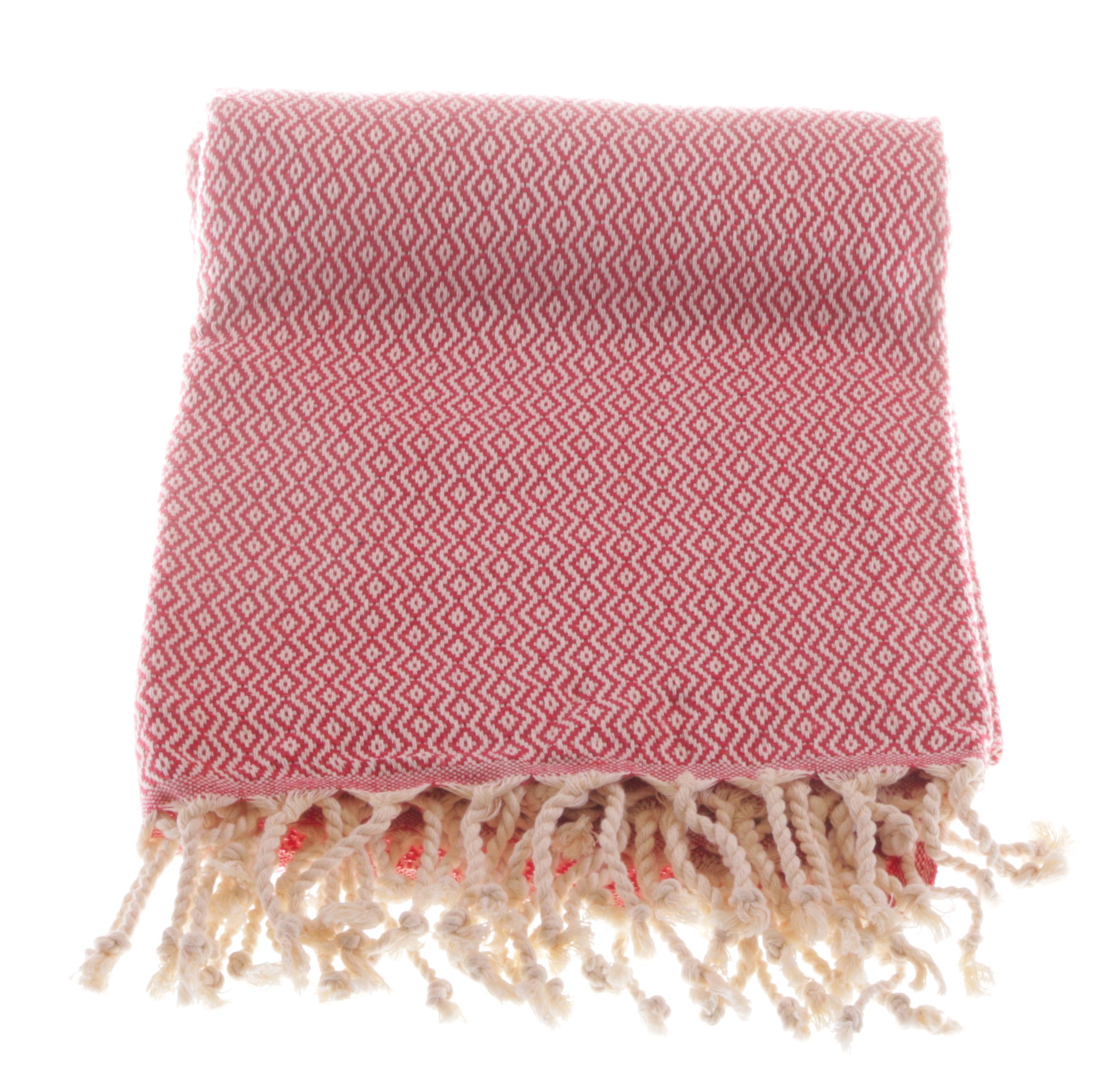 cotton-hammam-towel-kelim2-red