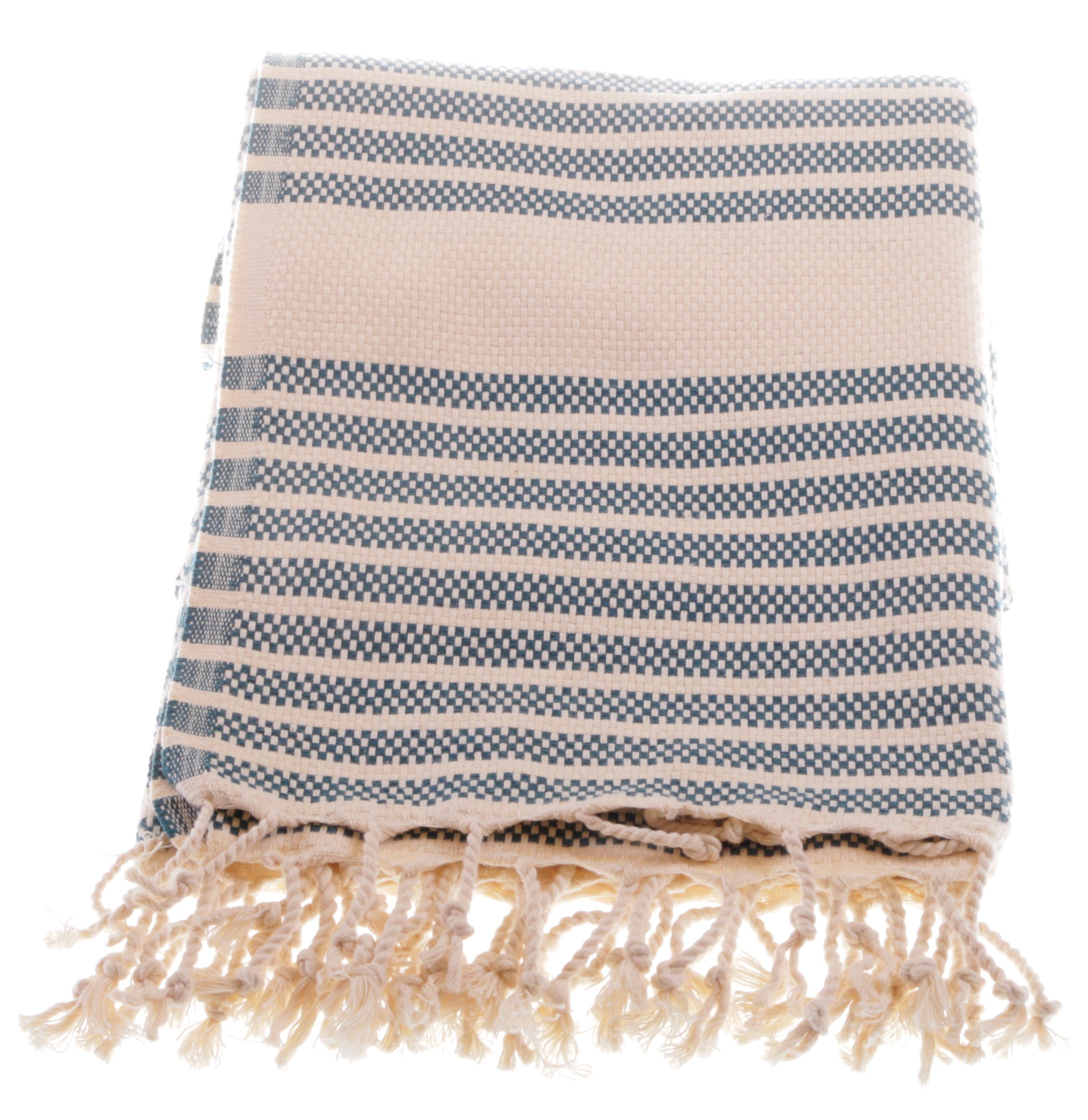 marmara petrol color hammam towel