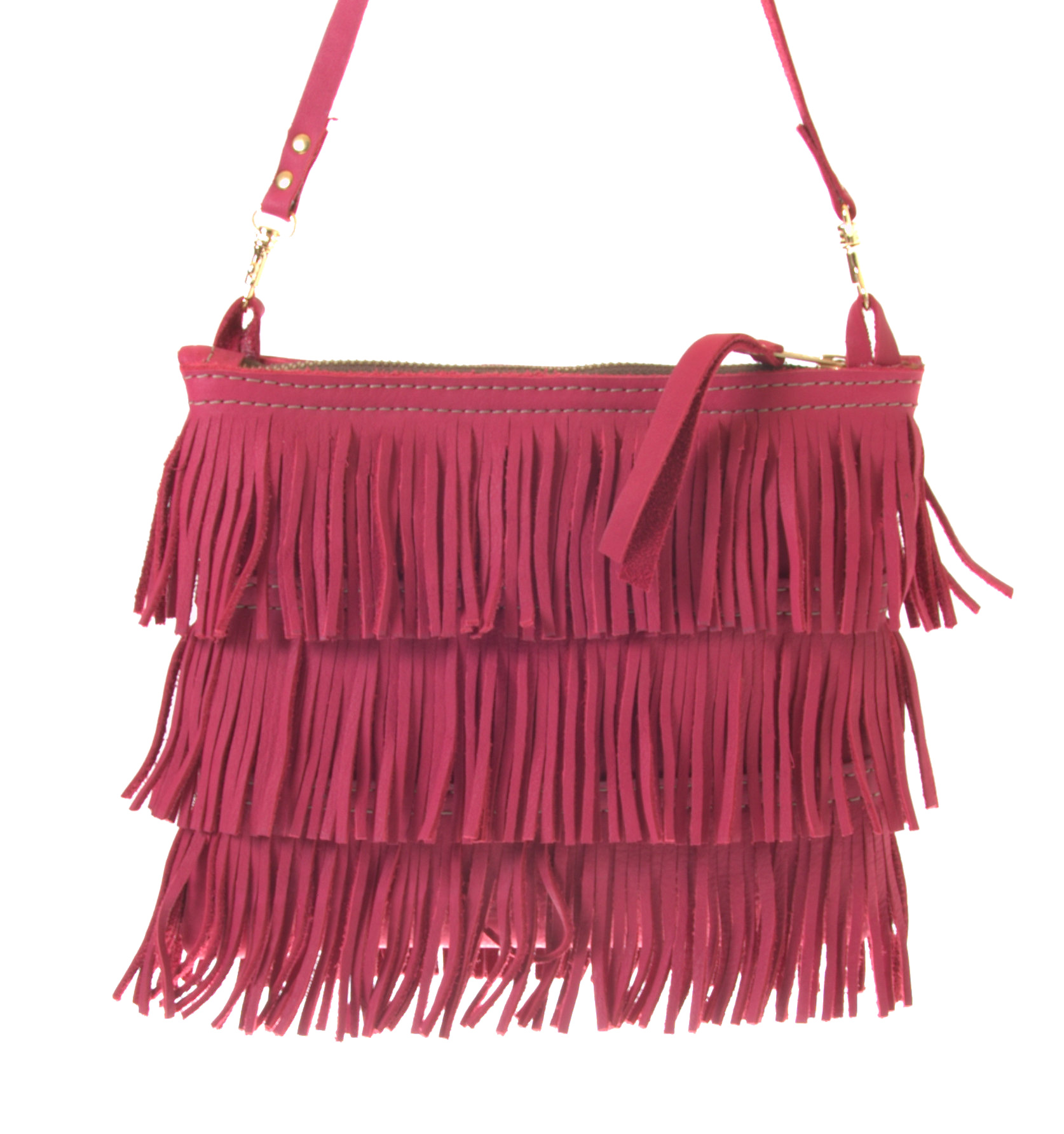 Small Fringe - Small shoulder bag - Jackal and Hide