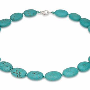 necklace - Tajikistan - turquoise - Central Asia
