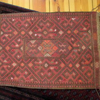 Gundara - Susani-Teppich Gulnora - handgemacht - aus Afghanistan - 100% Wolle
