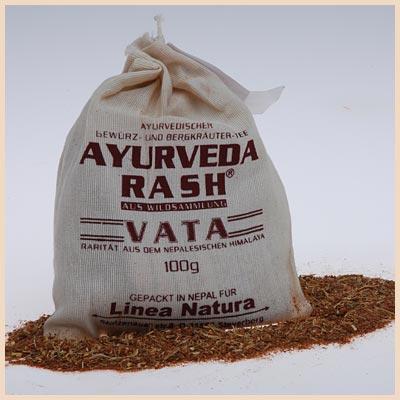 Ayurveda Rash Vata - Organic Herbal Tea | Gundara
