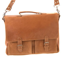Geniune cow leather briefcase from Ethiopia