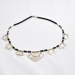 Onyx-Silberkette Khumesa