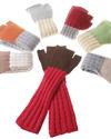 colorful baby-alpaka arm warmers