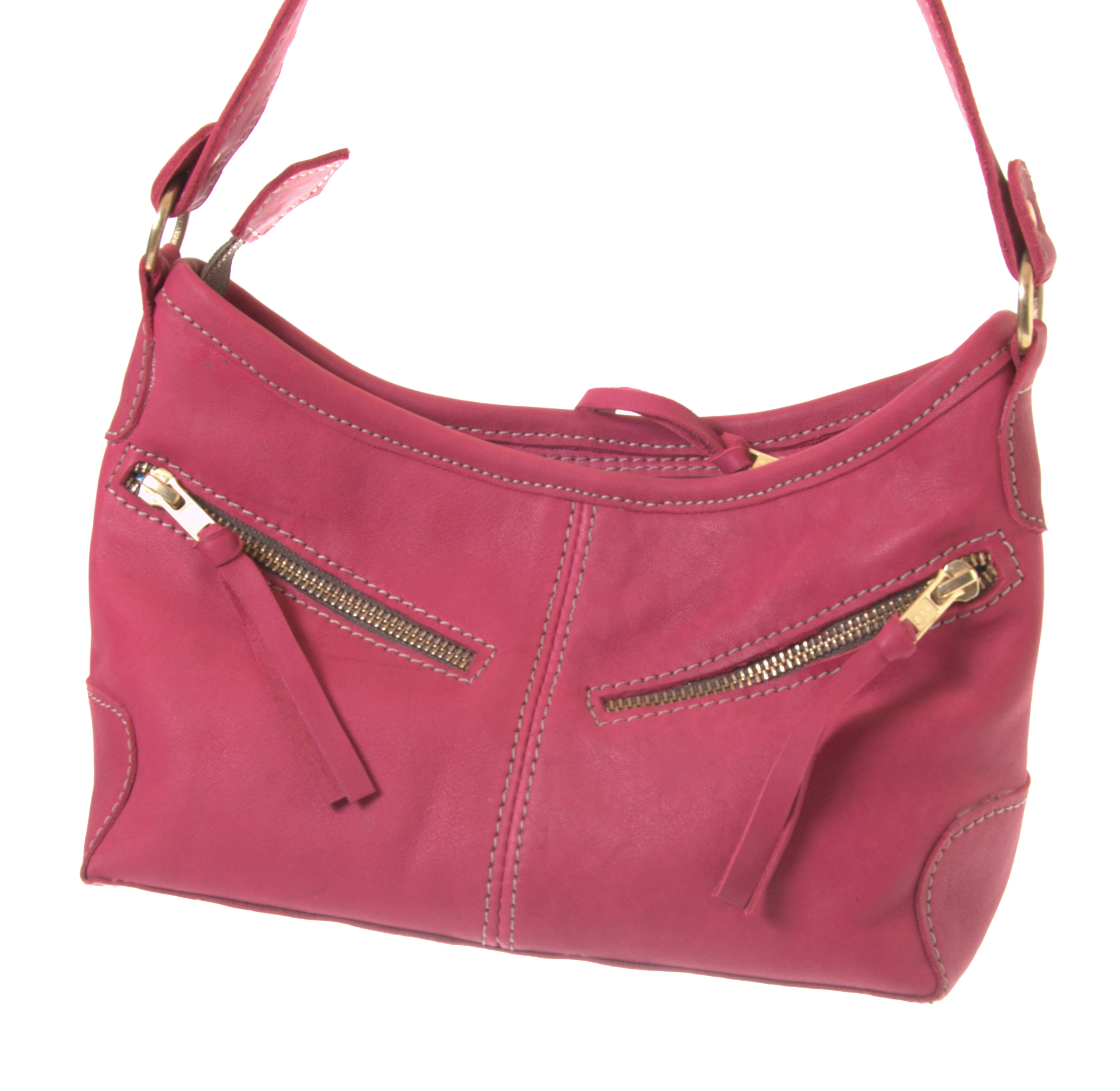 todd small fair trade leather bag from zambia